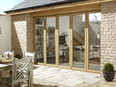 coloured bifold door frames - Made to Measure Bifolds from Window & Door Specialist