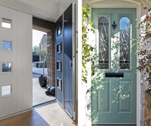 Composite doors supplied and fitted in Surrey