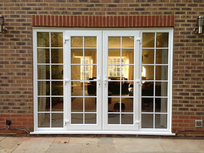 French doors supplied and fitted in Surrey and London