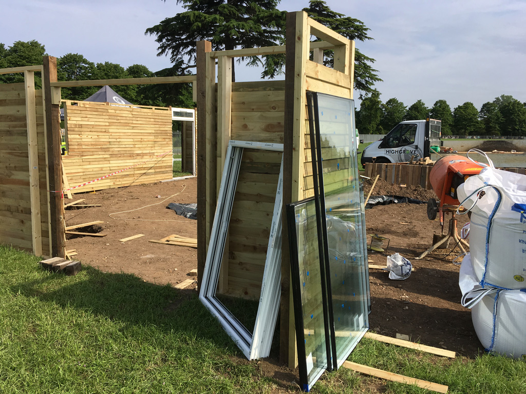 hampton court flower show window delivery 10 - Sprout Up Office at the Hampton Court Flower Show