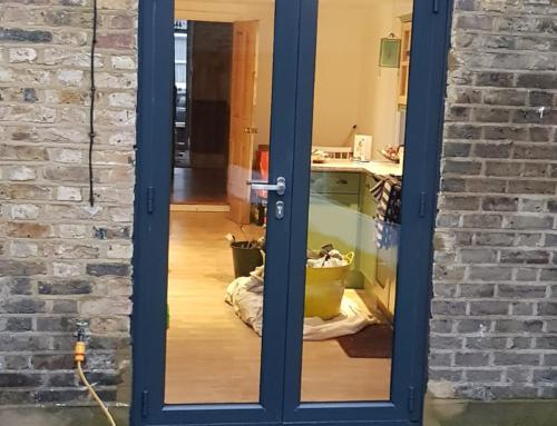Installation of Origin French Doors in Lewisham