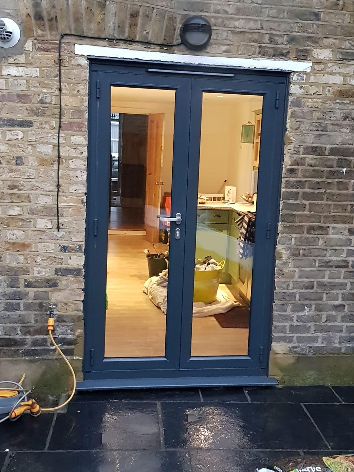 Origin French door installation in Lewisham