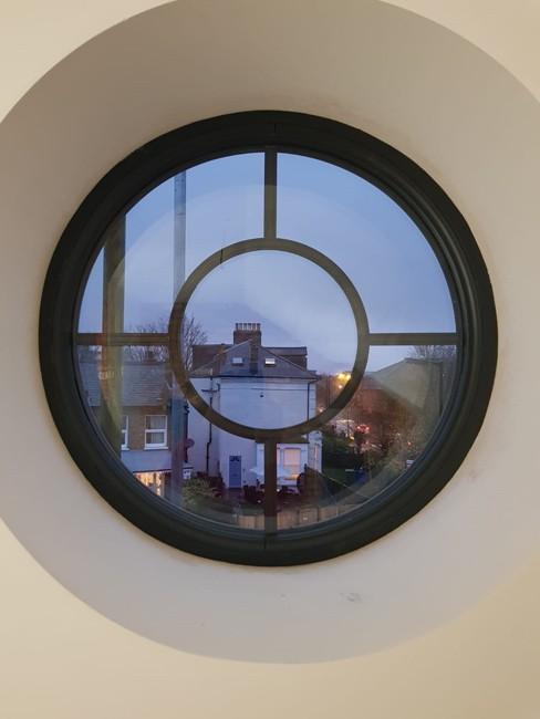 Bespoke windows & doors - quality round window installation in Lewisham