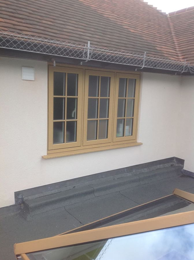 R9 roof lantern and matching windows in Wallington