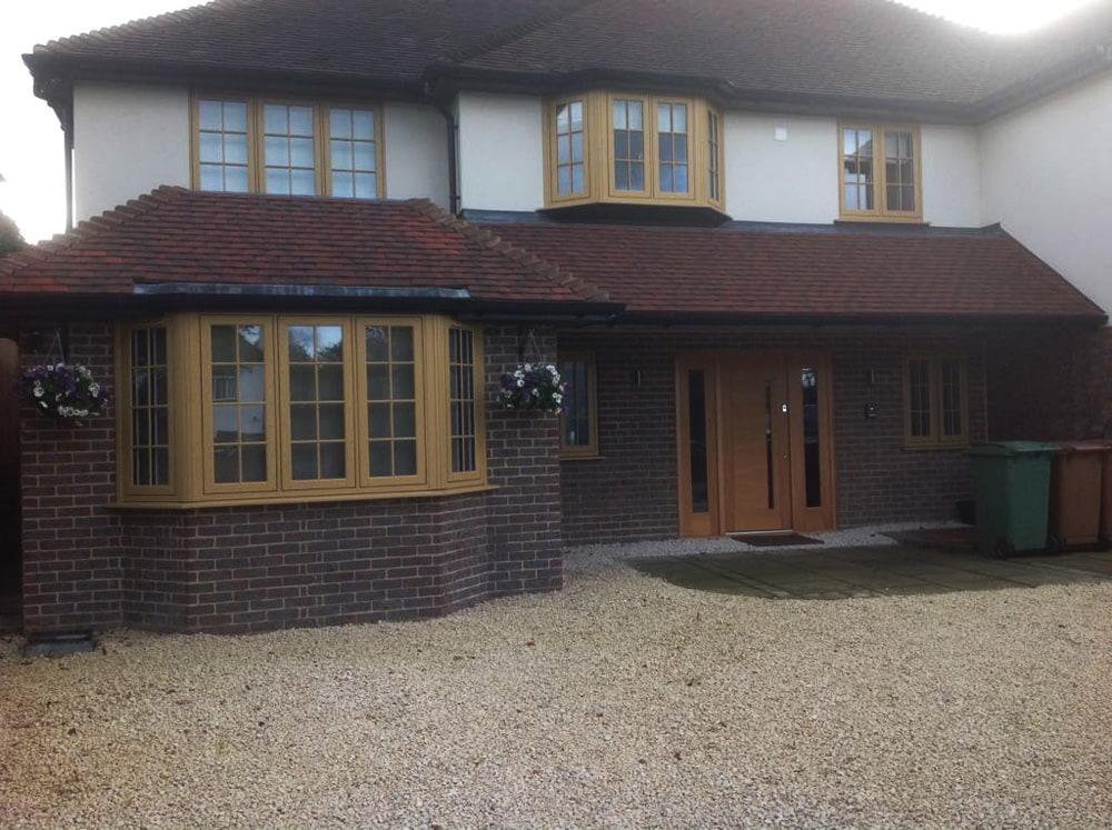 R9 timber alternative window installers Wallington