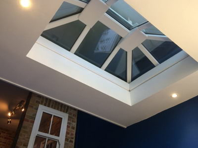 Roof lanterns supplied and fitted in South London