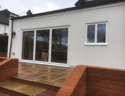 Matching Windows in a Banstead Home Extension