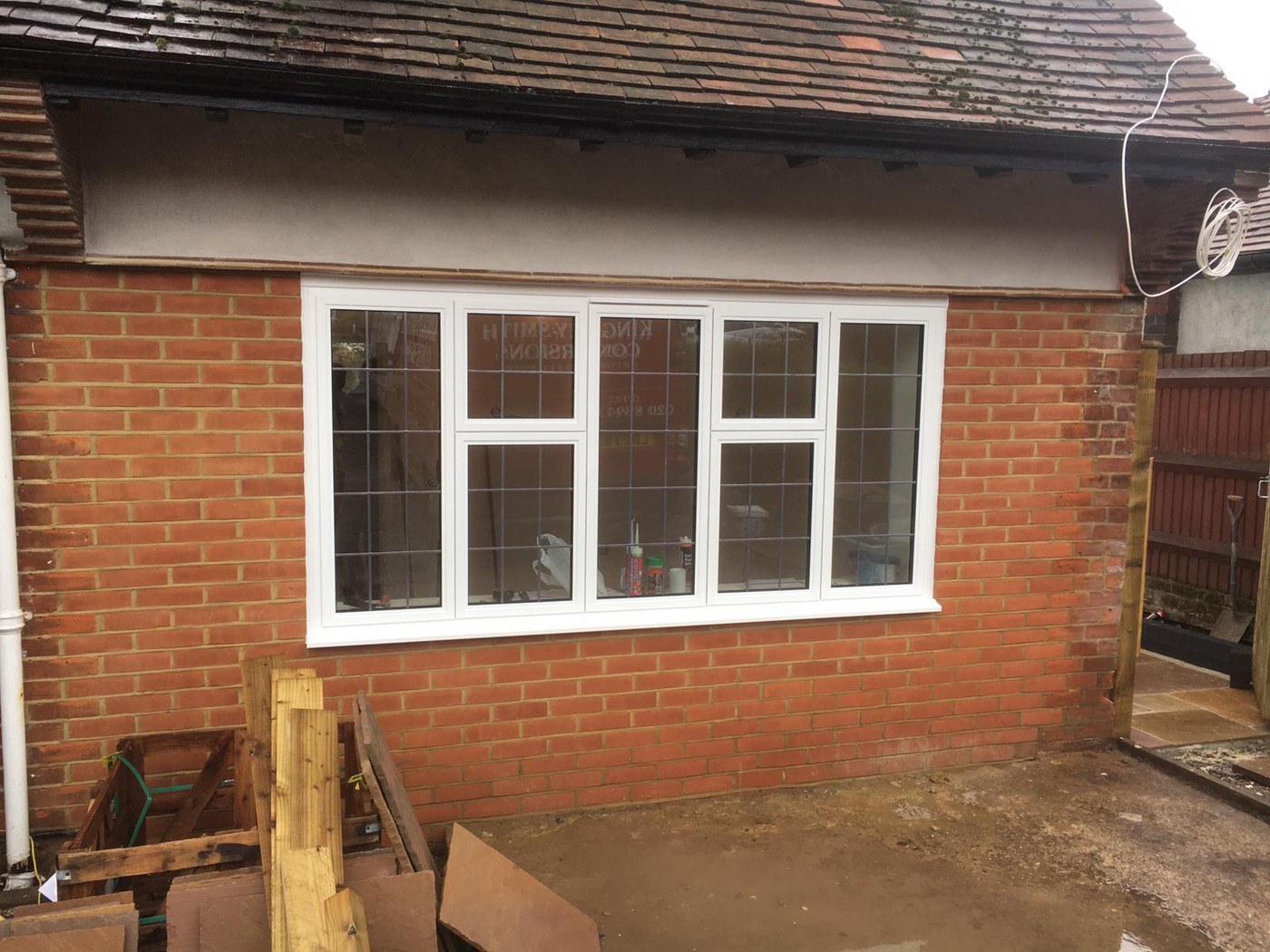 Smart Heritage windows to match existing windows in Banstead extension